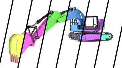 Rainbow Excavator