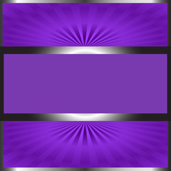Background-Black & Purple with Copy Space