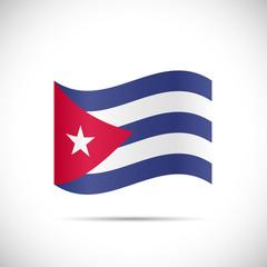 Cuba Flag Illustration