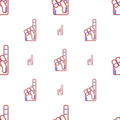 Background for fan finger glove