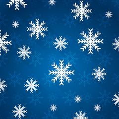abstract christmas background texture with snowflakes