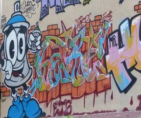In de dag Graffiti graffiti 2