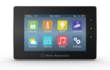 home automation panel