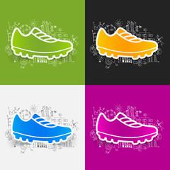 Drawing business formulas: sneakers