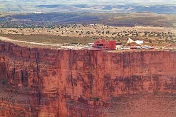 Aussichtsplattform über den Grand Canyon
