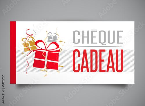 """foto de """"Chèque cadeau"""" fichier vectoriel libre de droits sur la banque d'images Fotolia com Image"""