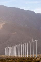 Clean Green Energy Wind Turbines Alternative Desert Power