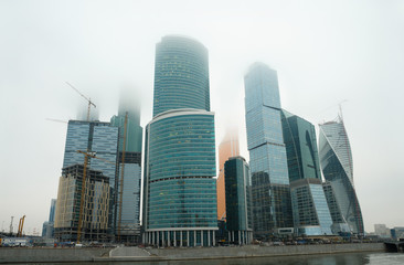 Russia, Moscow, Moscow Business cent City.