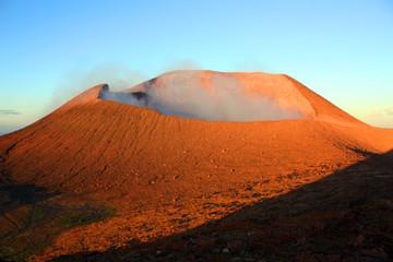 Nicaragua volcano Telica