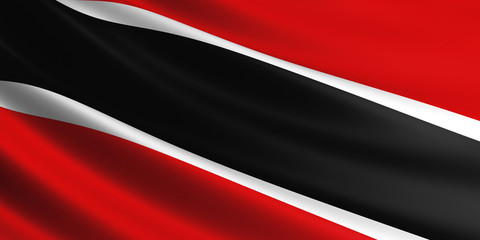 Trinidad and Tobago flag.