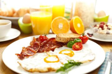 Frühstück tisch