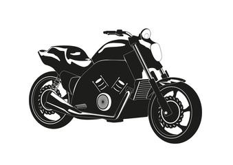 Силуэт мотоцикла