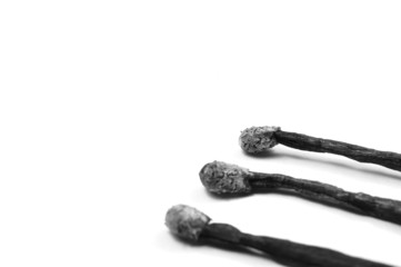 Psychische Erkrankungen schwarz-weiß Konzept