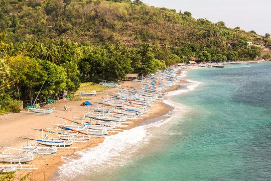 Bali coast near Amed