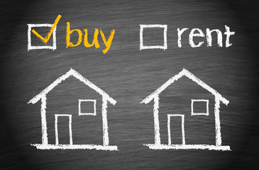 Buy a House - Real Estate Concept