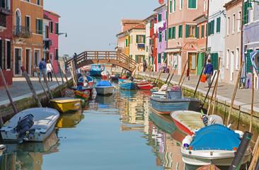 Venice - Typically architecture Burano island