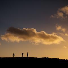 sky human sunset way