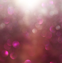 blurred abstract brown and purple bokeh lights and textures. ima