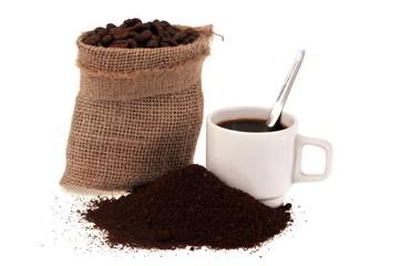 Canvas Prints Coffee beans Saveur café