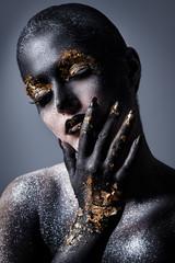 Photo sur Aluminium People Beautiful, artistic makeup