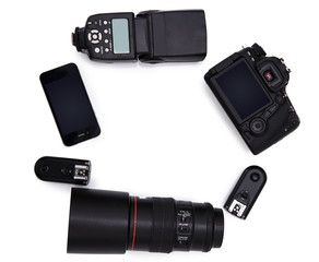 Set for digital photography