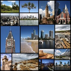 Australia - photo collage