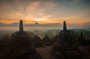Keuken foto achterwand Indonesië Borobudur Temple