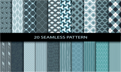 20 Seamless Patterns