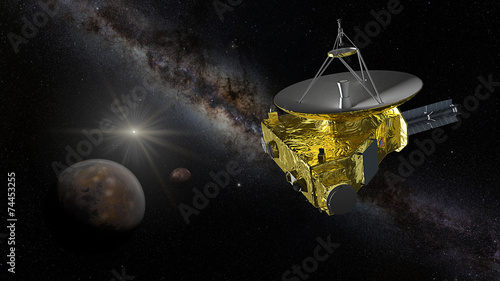 space probe to pluto - HD 1562×1000