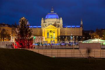 Christmas decoration in Zagreb