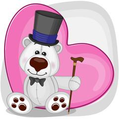 Polar Bear in hat