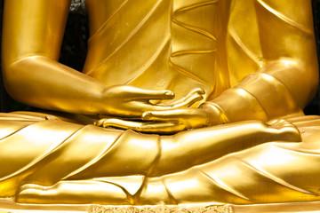 Buddhist statue hands