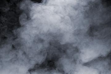 Garden Poster Smoke Smoke isolated on black background