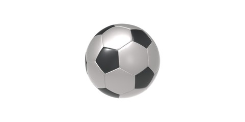black and grey Soccer ball or football