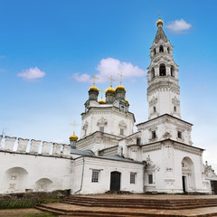Trinity Church in Verkhoturye Kremlin, Russia