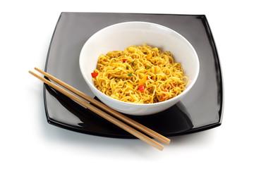 oriental noodles soup