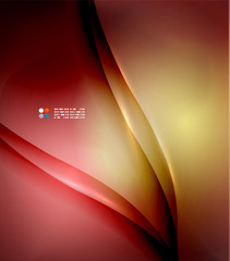 Red abstract lines background