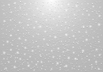 Grey Christmas Background with Light