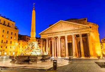 Fototapete - Pantheon, Rome, Italy