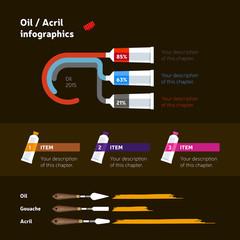 Flat Style Web and Infographic Icons