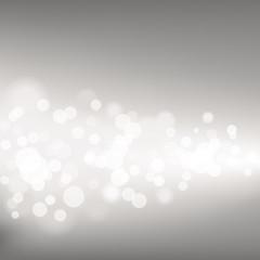 Silver Defocused Lights