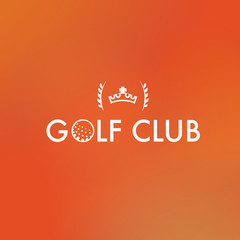 Golf club orange