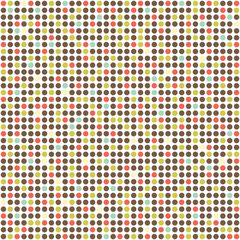 A dotted pattern vector background