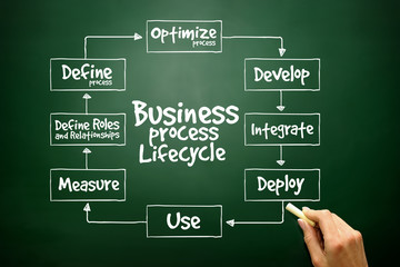 Business Process Lifecycle for presentations and reports