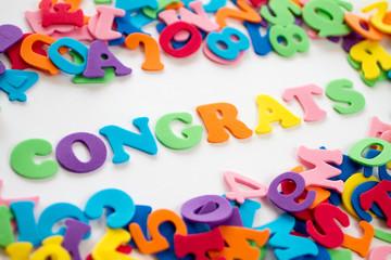 Congrats - Glückwünsche