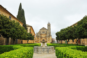 Plaza Vázquez de Molina, Úbeda, provincia de Jaén, España