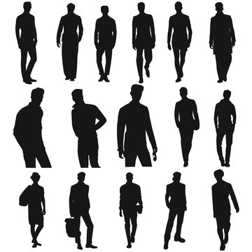 Silhouette homme2