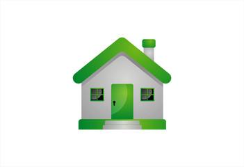 House Abstract Real Logo design vector