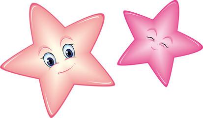 Sterne für Mädchenzimmer