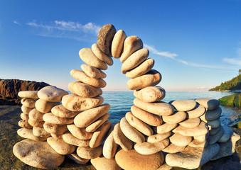 Between of stones